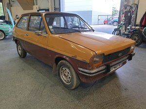 **OCTOBER ENTRY** 1977 Ford Fiesta LHD For Sale by Auction