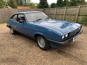 **OCTOBER ENTRY** 1984 Ford Capri LS For Sale by Auction