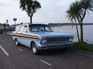 Ford falcon squire surf wagon