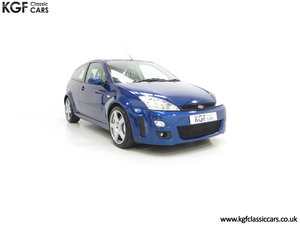 2003 An Early Build Number 716 Ford Focus RS Mk1 with 28457 Miles