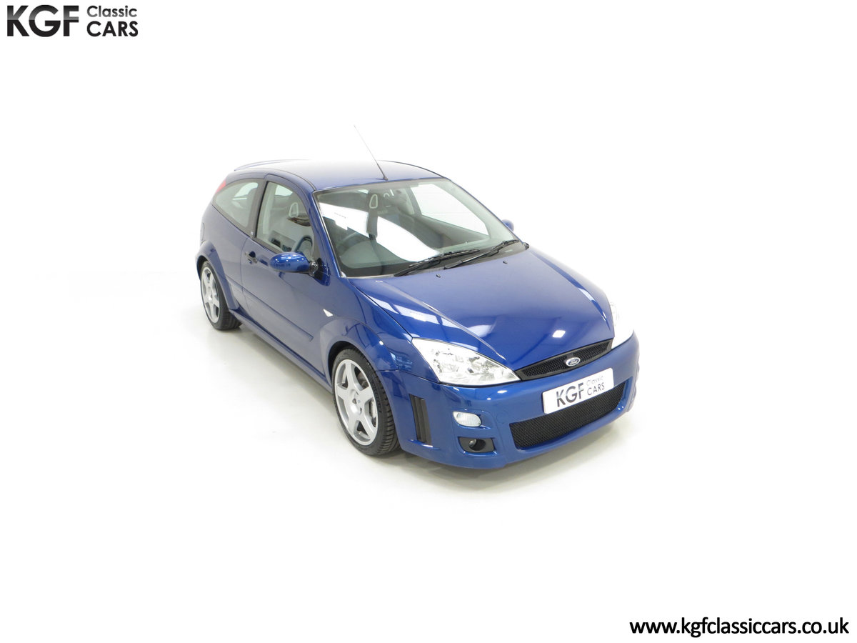 2003 An Early Build Number 716 Ford Focus RS Mk1 with 28457 Miles For Sale (picture 2 of 24)