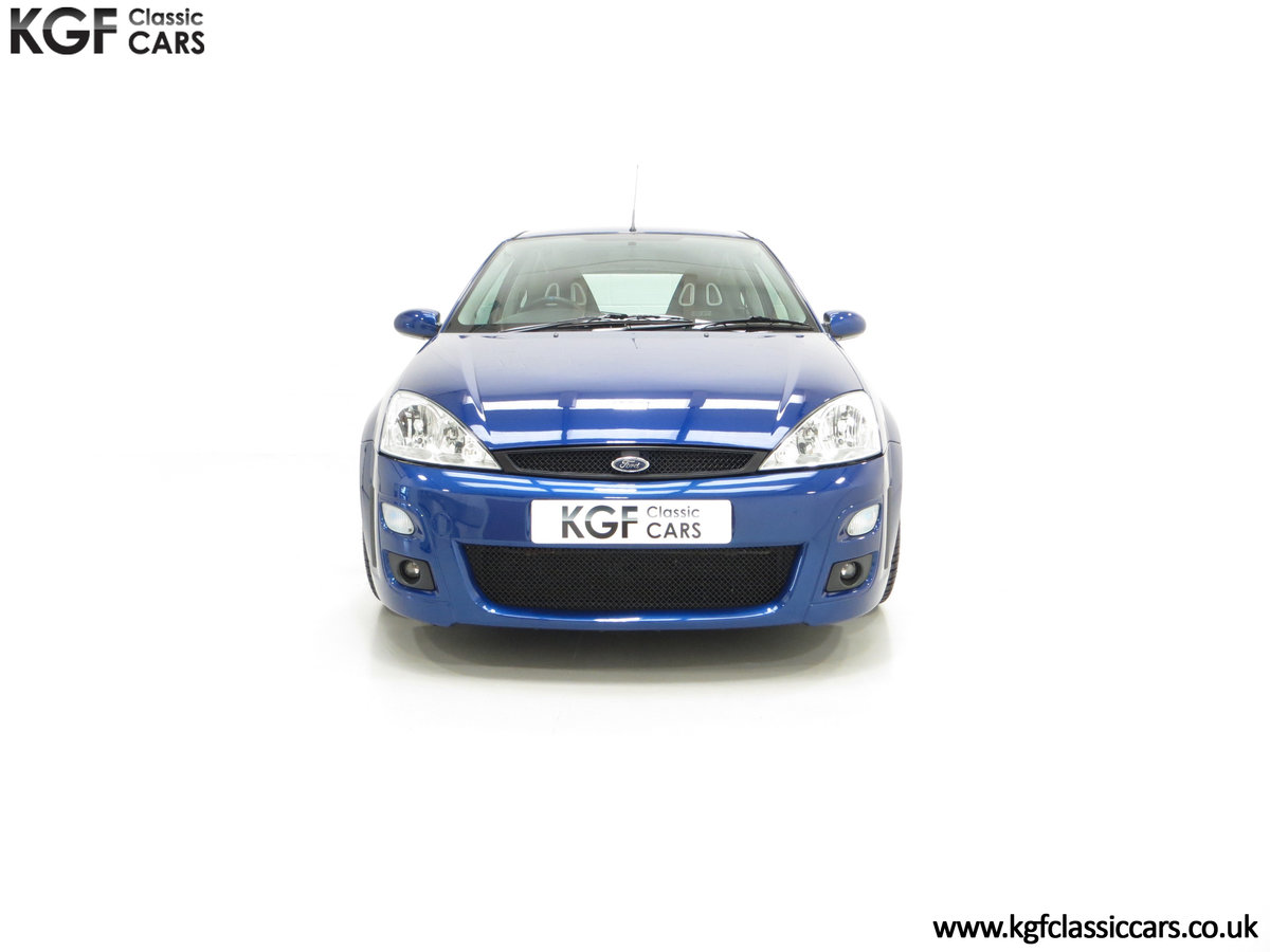 2003 An Early Build Number 716 Ford Focus RS Mk1 with 28457 Miles For Sale (picture 3 of 24)