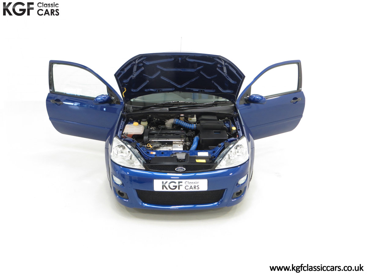 2003 An Early Build Number 716 Ford Focus RS Mk1 with 28457 Miles For Sale (picture 4 of 24)