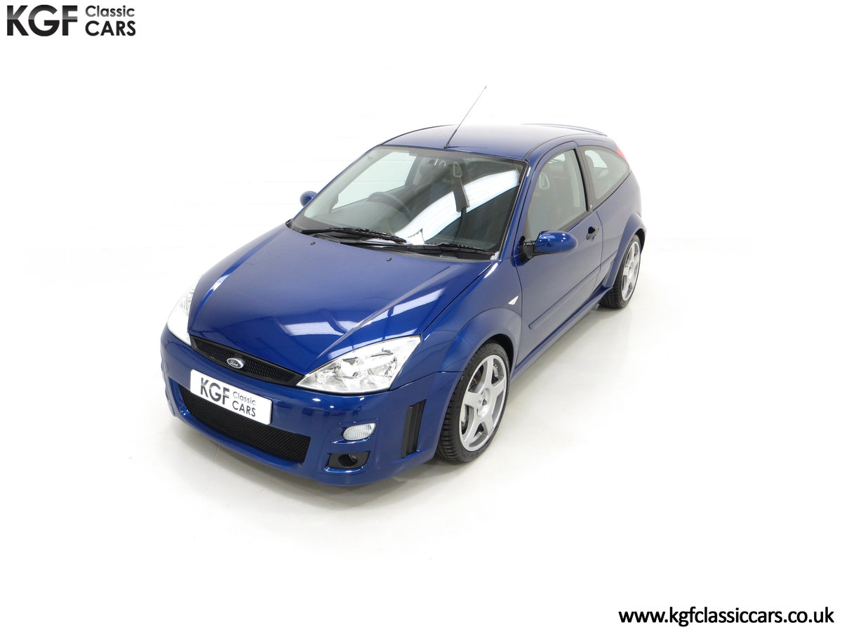 2003 An Early Build Number 716 Ford Focus RS Mk1 with 28457 Miles For Sale (picture 5 of 24)