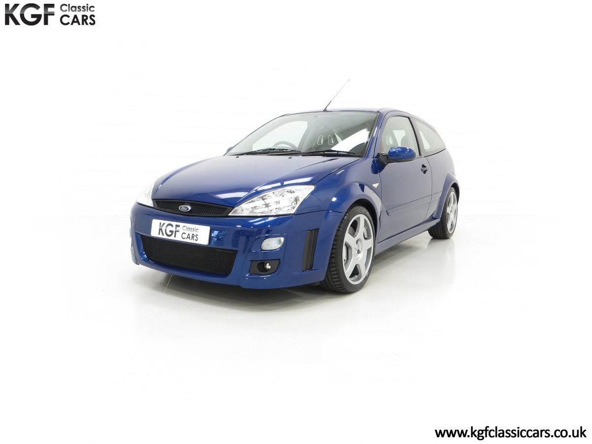 2003 An Early Build Number 716 Ford Focus RS Mk1 with 28457 Miles For Sale (picture 6 of 24)