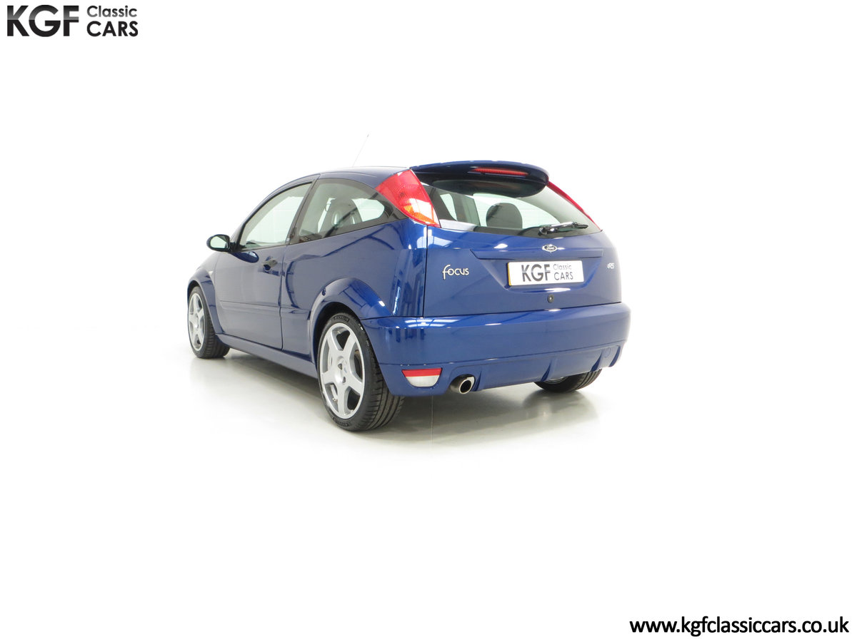 2003 An Early Build Number 716 Ford Focus RS Mk1 with 28457 Miles For Sale (picture 8 of 24)