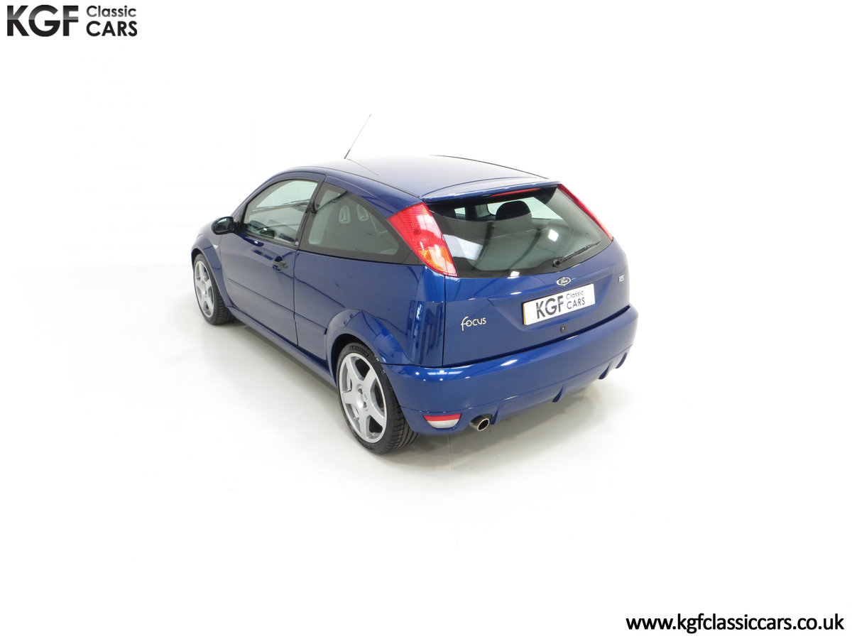 2003 An Early Build Number 716 Ford Focus RS Mk1 with 28457 Miles For Sale (picture 9 of 24)