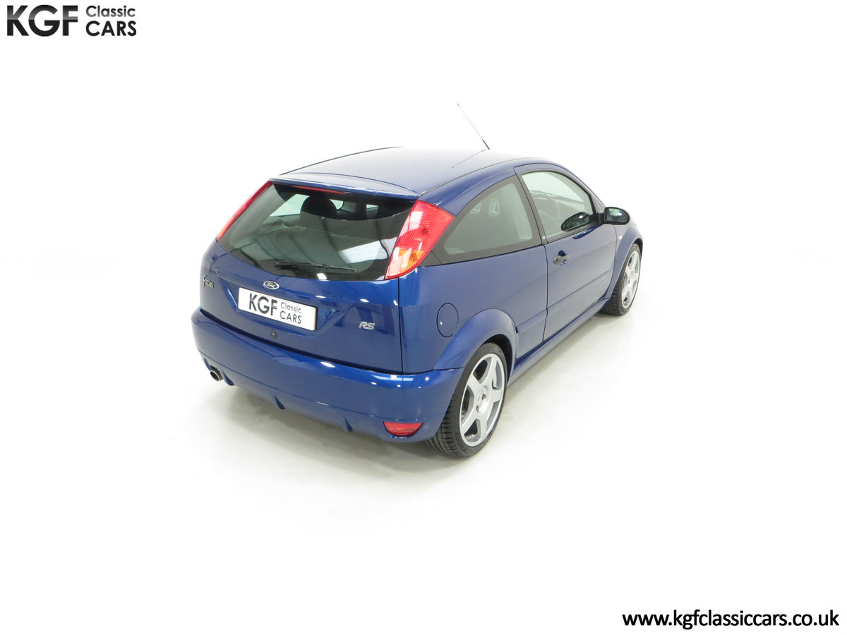 2003 An Early Build Number 716 Ford Focus RS Mk1 with 28457 Miles For Sale (picture 12 of 24)