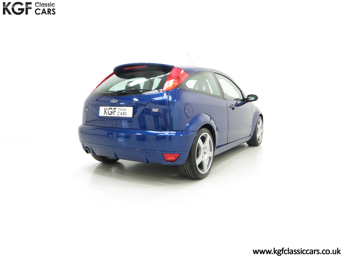 2003 An Early Build Number 716 Ford Focus RS Mk1 with 28457 Miles For Sale (picture 13 of 24)