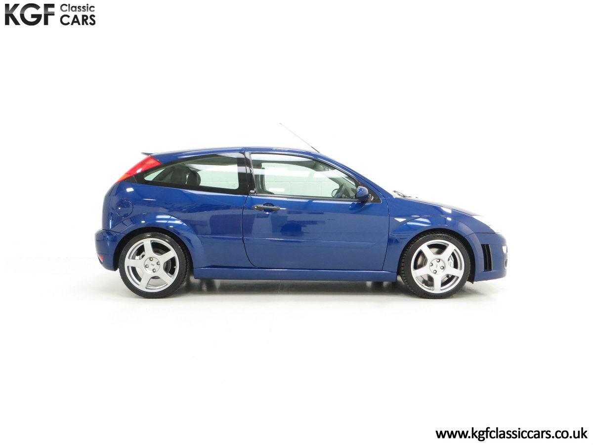 2003 An Early Build Number 716 Ford Focus RS Mk1 with 28457 Miles For Sale (picture 14 of 24)