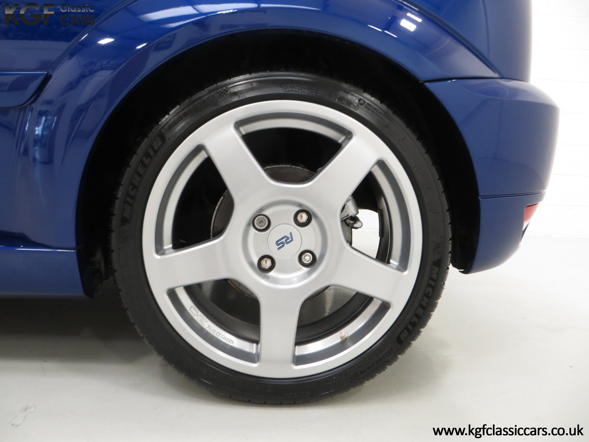 2003 An Early Build Number 716 Ford Focus RS Mk1 with 28457 Miles For Sale (picture 15 of 24)