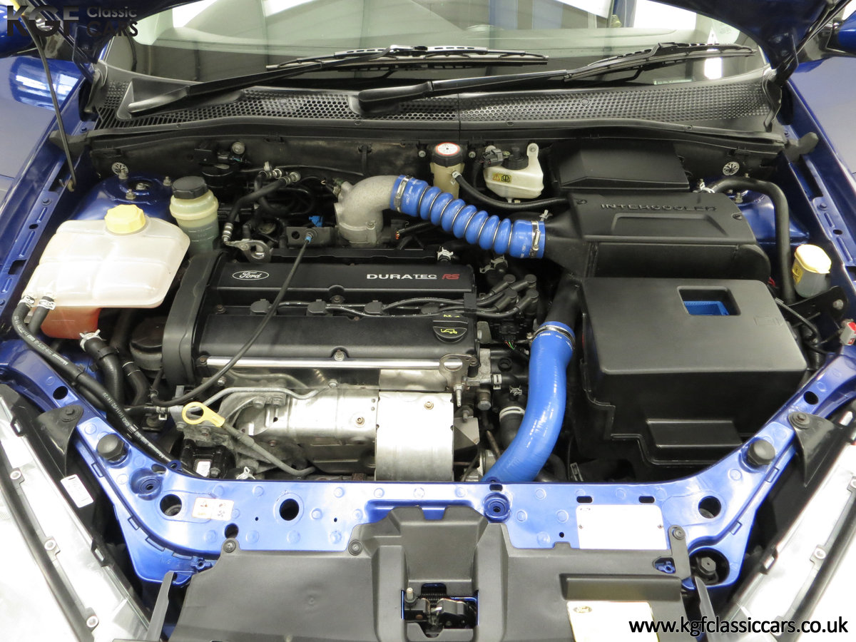 2003 An Early Build Number 716 Ford Focus RS Mk1 with 28457 Miles For Sale (picture 16 of 24)