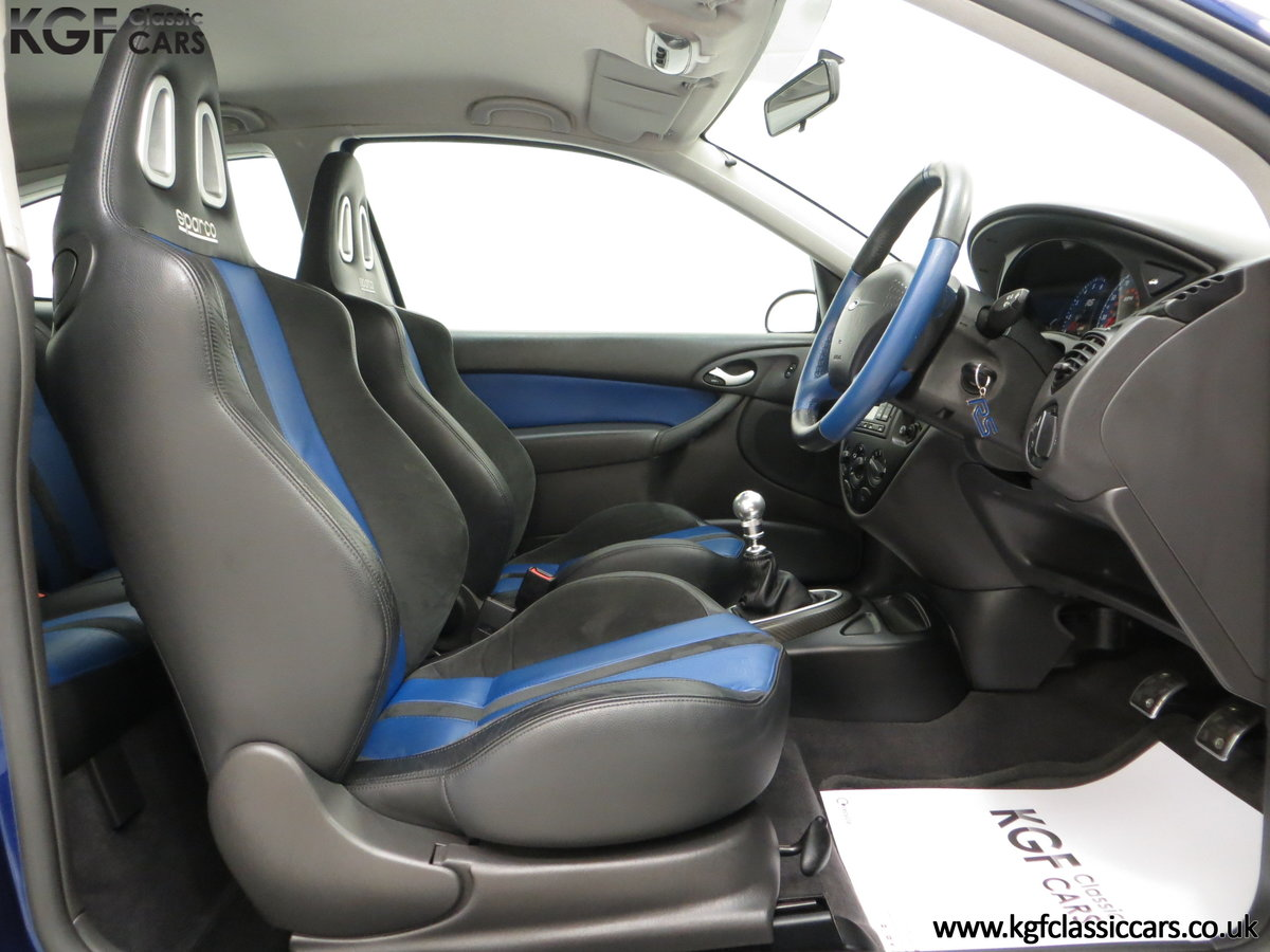 2003 An Early Build Number 716 Ford Focus RS Mk1 with 28457 Miles For Sale (picture 18 of 24)