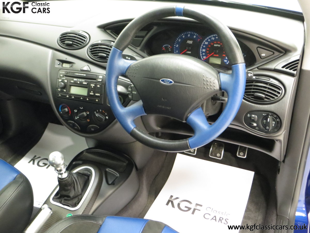 2003 An Early Build Number 716 Ford Focus RS Mk1 with 28457 Miles For Sale (picture 19 of 24)