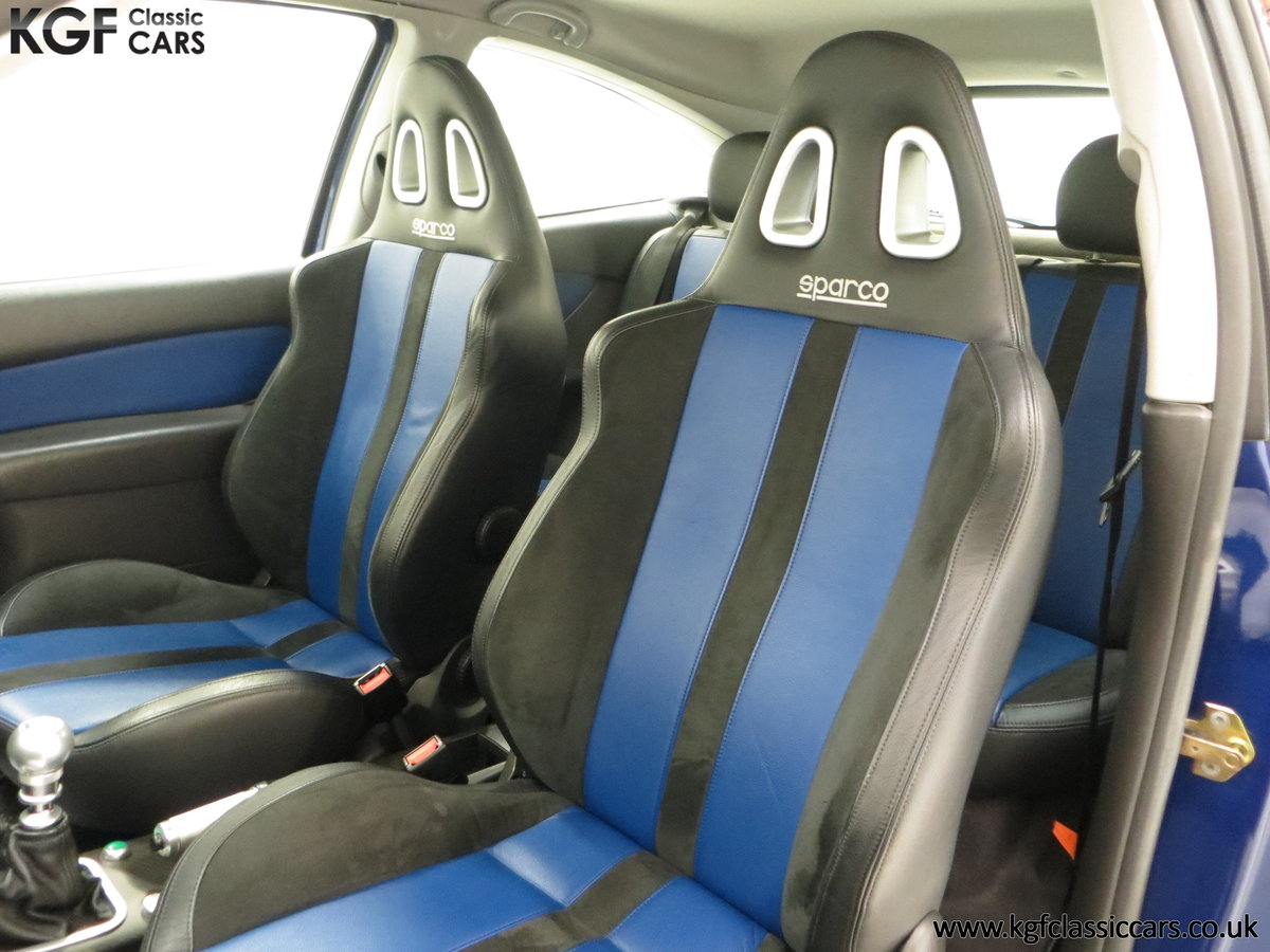 2003 An Early Build Number 716 Ford Focus RS Mk1 with 28457 Miles For Sale (picture 20 of 24)