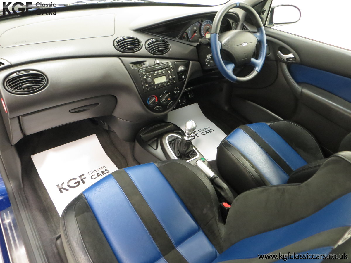 2003 An Early Build Number 716 Ford Focus RS Mk1 with 28457 Miles For Sale (picture 22 of 24)