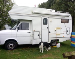 Ford motorhome classic  (rare)