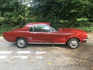 1966 ford mustang coupe best value