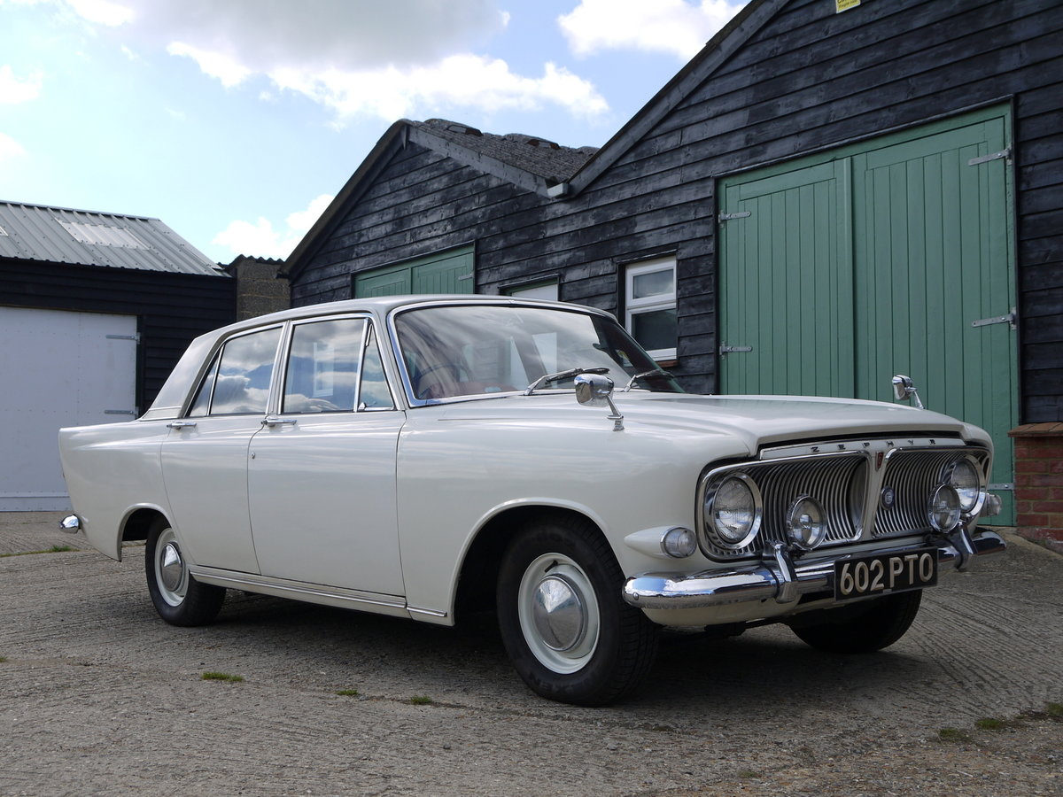 1962 FORD ZEPHYR MK3 MANUAL -  ORIGINAL EARLY CAR  SOLD (picture 2 of 6)
