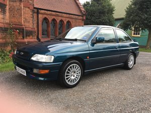 Ford Escort XR3i Mk5b - rare, and ready to show