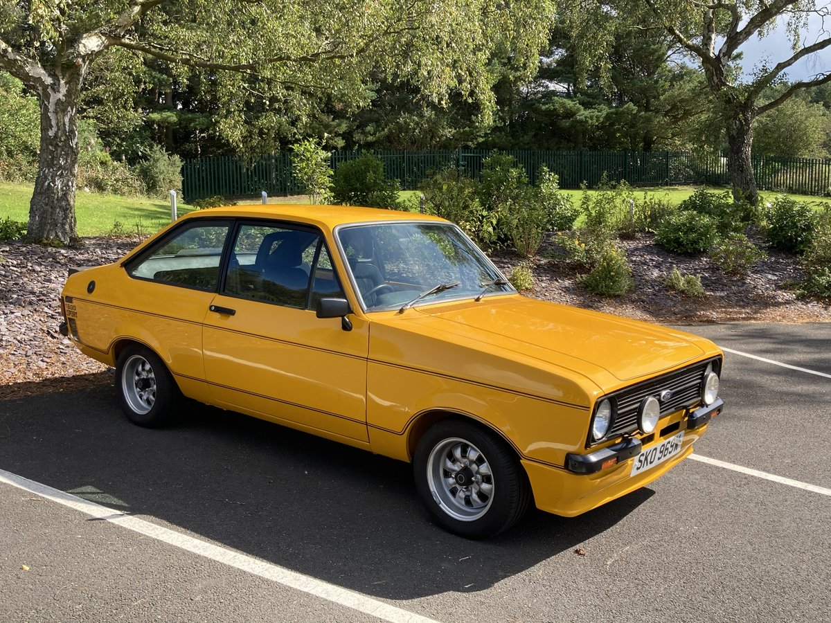 1981 Ford Escort Mk2 1600 Sport For Sale (picture 1 of 6)