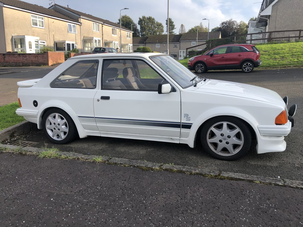 1985 Ford Escort Rs Turbo Series 1 For Sale (picture 1 of 2)