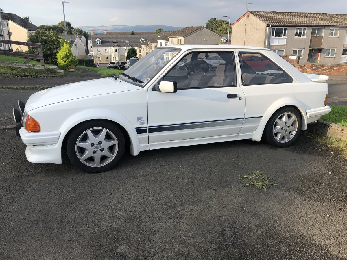 1985 Ford Escort Rs Turbo Series 1 For Sale (picture 2 of 2)