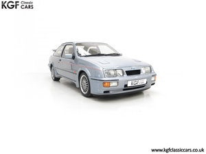 1987 An Astonishing Ford Sierra RS Cosworth with 12,993 Miles