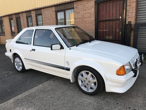 1985 FORD ESCORT SERIES 1 RS TURBO NUT AND BOLT RESTORATION