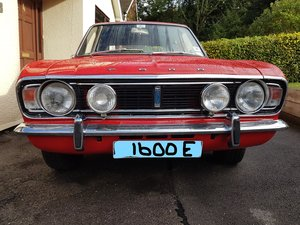 MK 2 CORTINA  1600E specification.