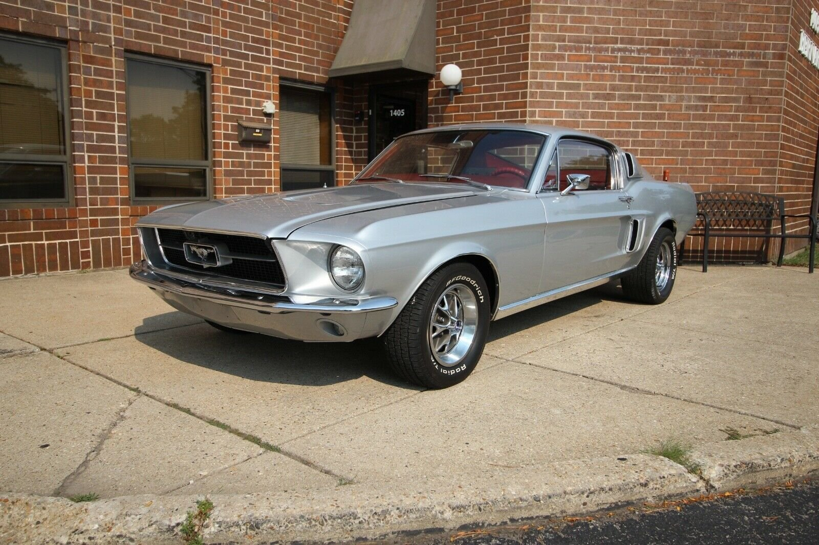 Red 1967 Mustang Fastback For Sale