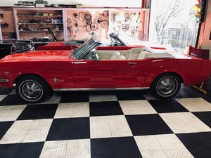 1965 Ford Mustang Convertible Matching Numbers