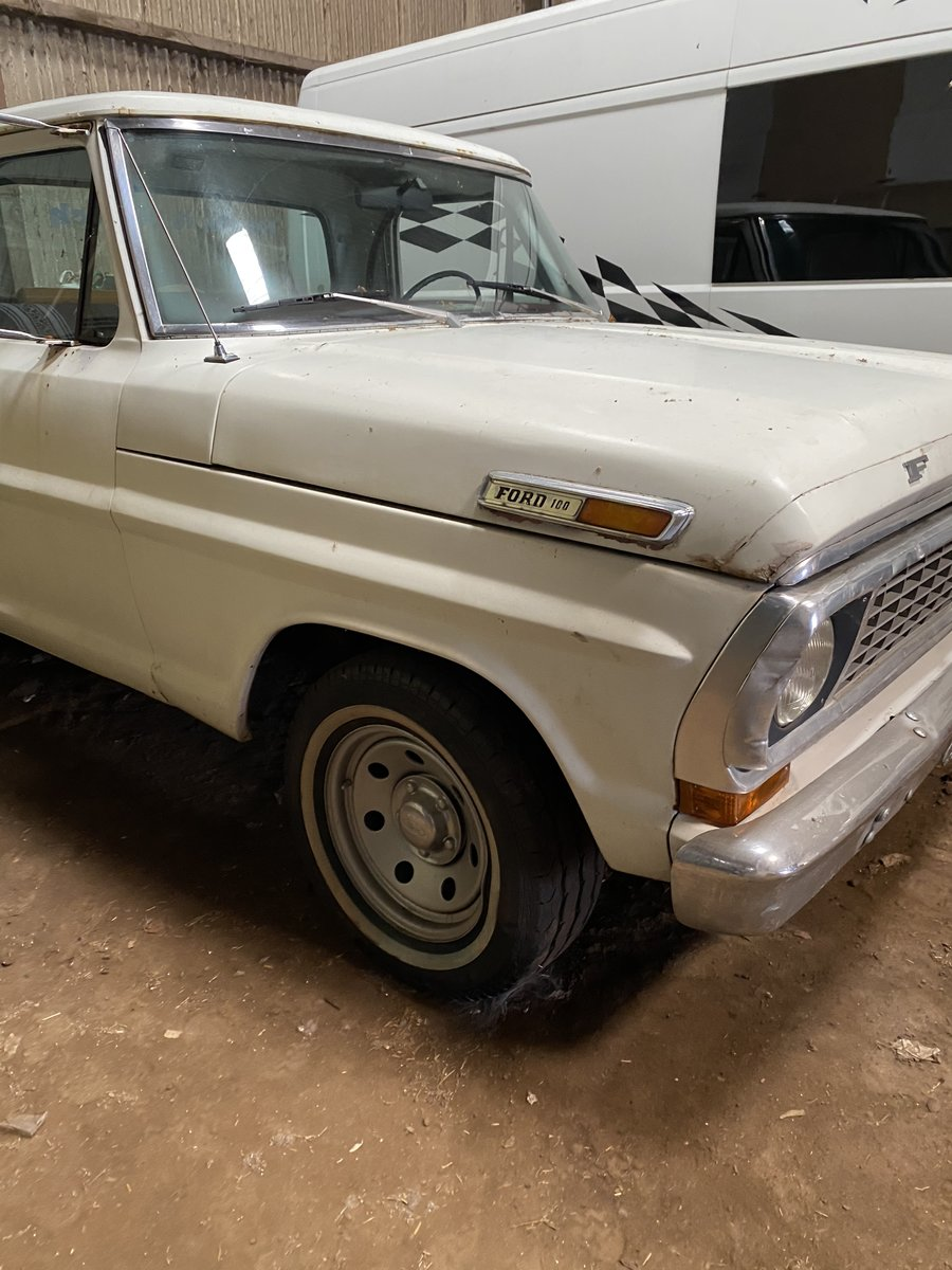 1970 Ford F100 Custom Sport LB For Sale (picture 4 of 6)