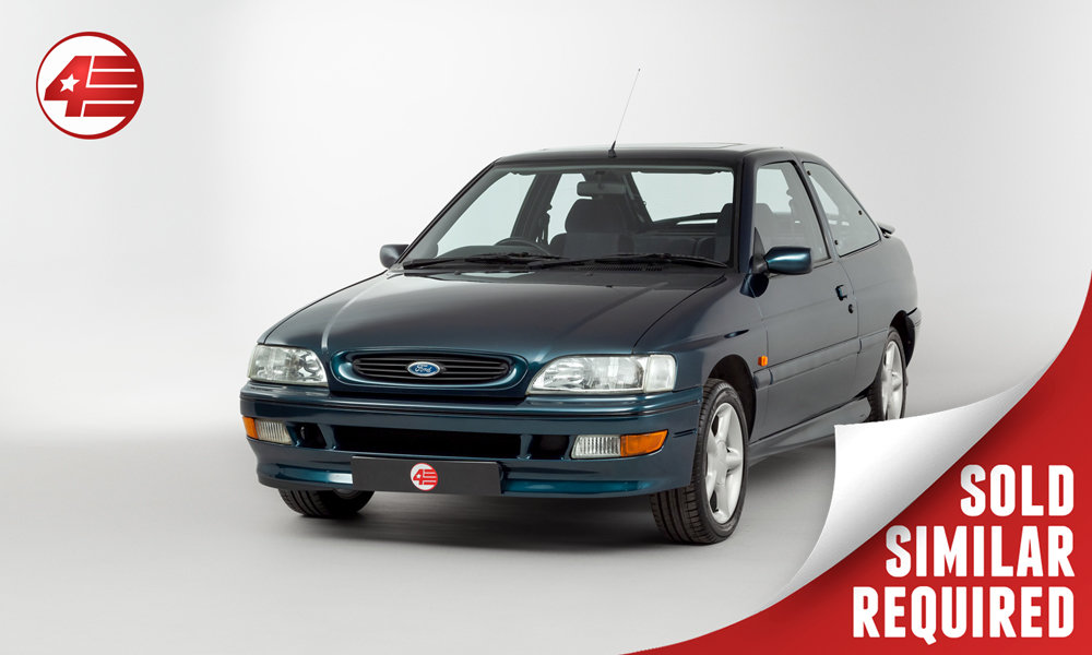 1994 Ford Escort Mk5 RS2000 16v /// Just 35k Miles SOLD (picture 1 of 3)