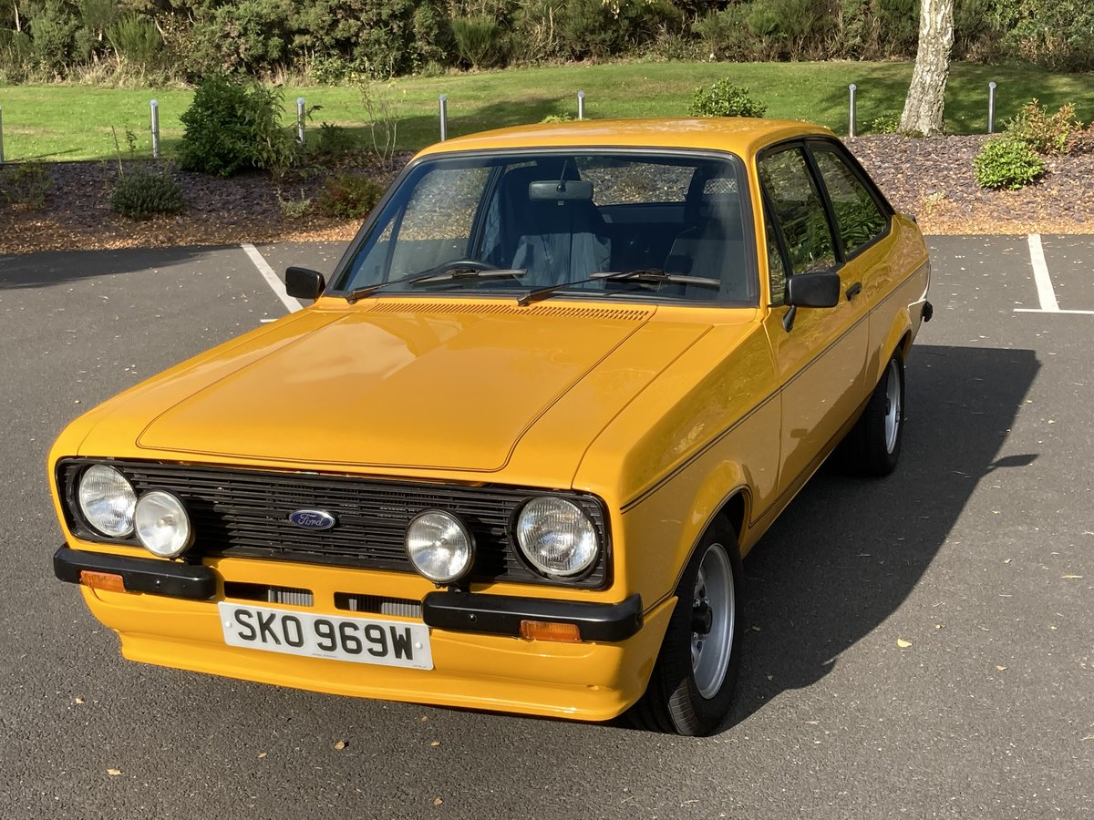 1981 Ford Escort Mk2 1600 Sport For Sale (picture 2 of 6)