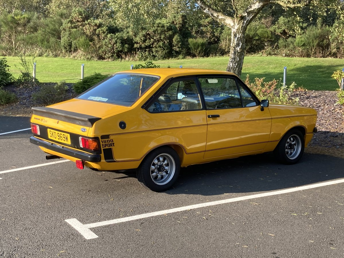 1981 Ford Escort Mk2 1600 Sport For Sale (picture 3 of 6)