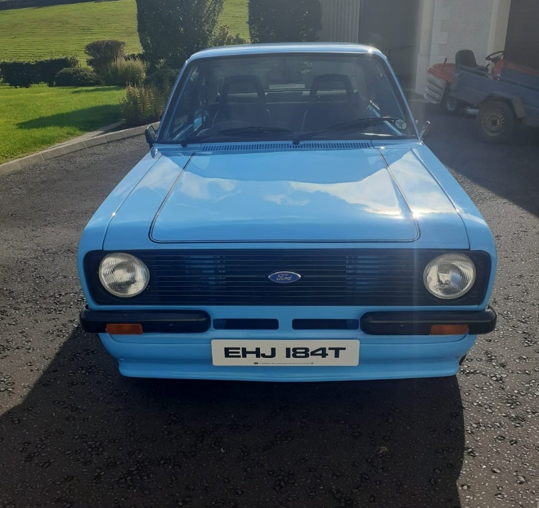 Totally stunning 1978 Ford Escort 1600 Sport. For Sale (picture 1 of 6)