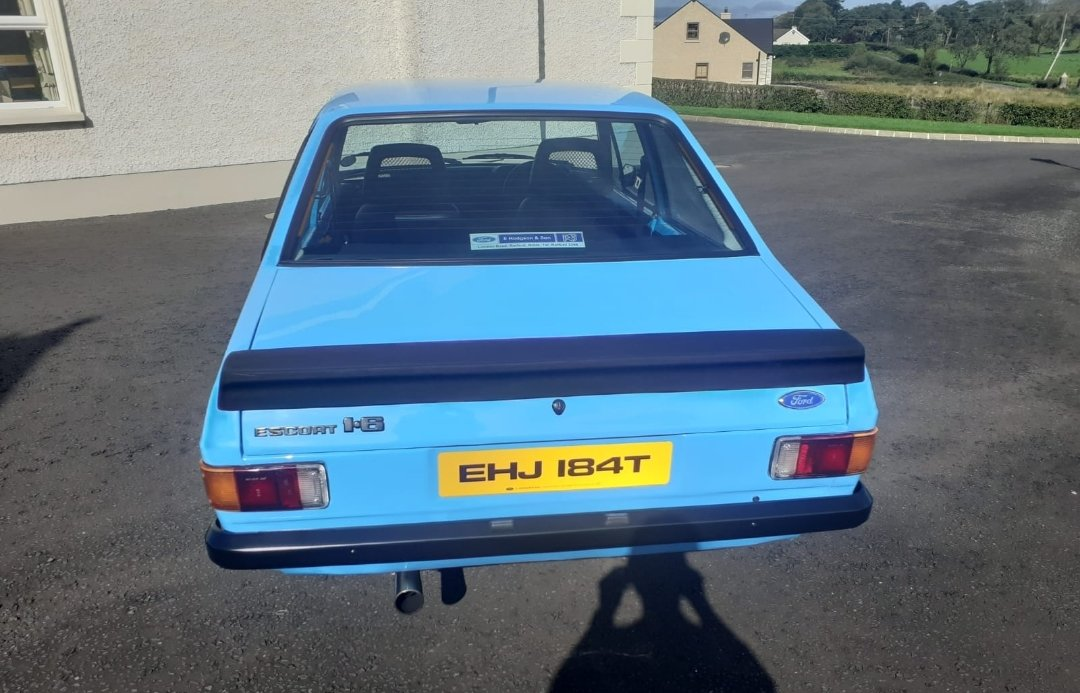 Totally stunning 1978 Ford Escort 1600 Sport. For Sale (picture 2 of 6)