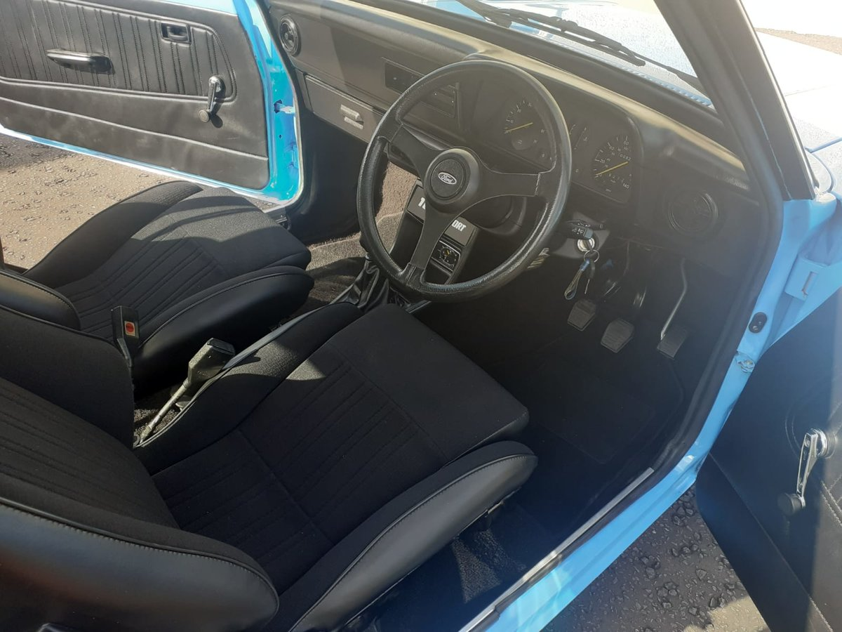 Totally stunning 1978 Ford Escort 1600 Sport. For Sale (picture 4 of 6)