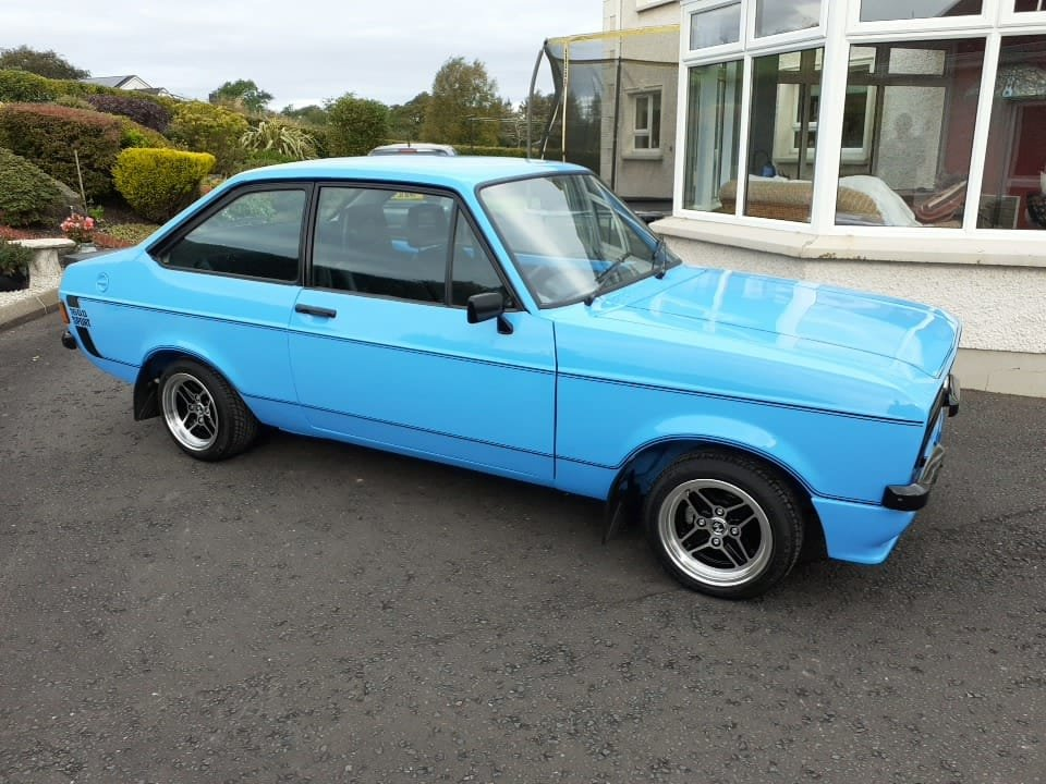 Totally stunning 1978 Ford Escort 1600 Sport. For Sale (picture 6 of 6)