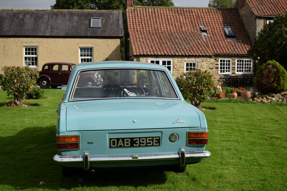 1967 FORD CORTINA MARK 2 1300 - JUST STUNNING CONDITION! SOLD (picture 3 of 6)
