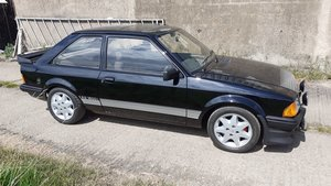 1983 Ford escort rs1600i black