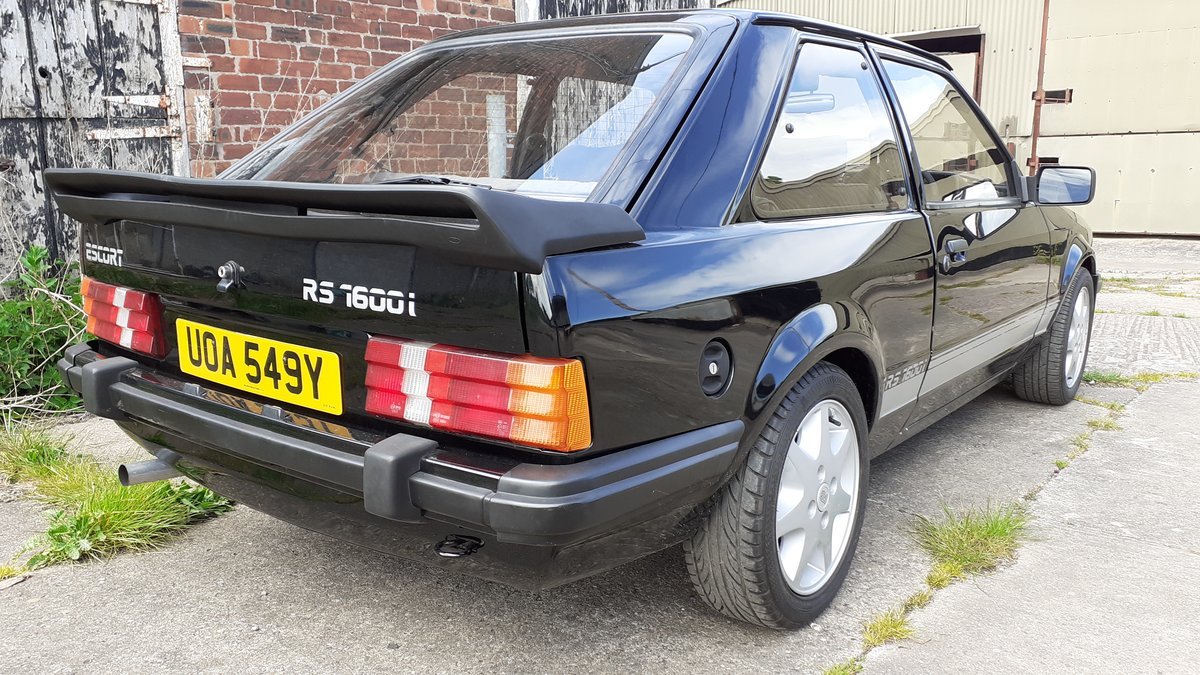1983 Ford escort rs1600i black For Sale (picture 4 of 6)