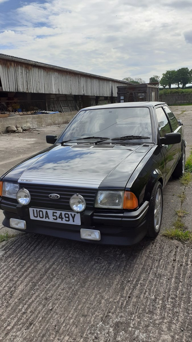 1983 Ford escort rs1600i black For Sale (picture 5 of 6)