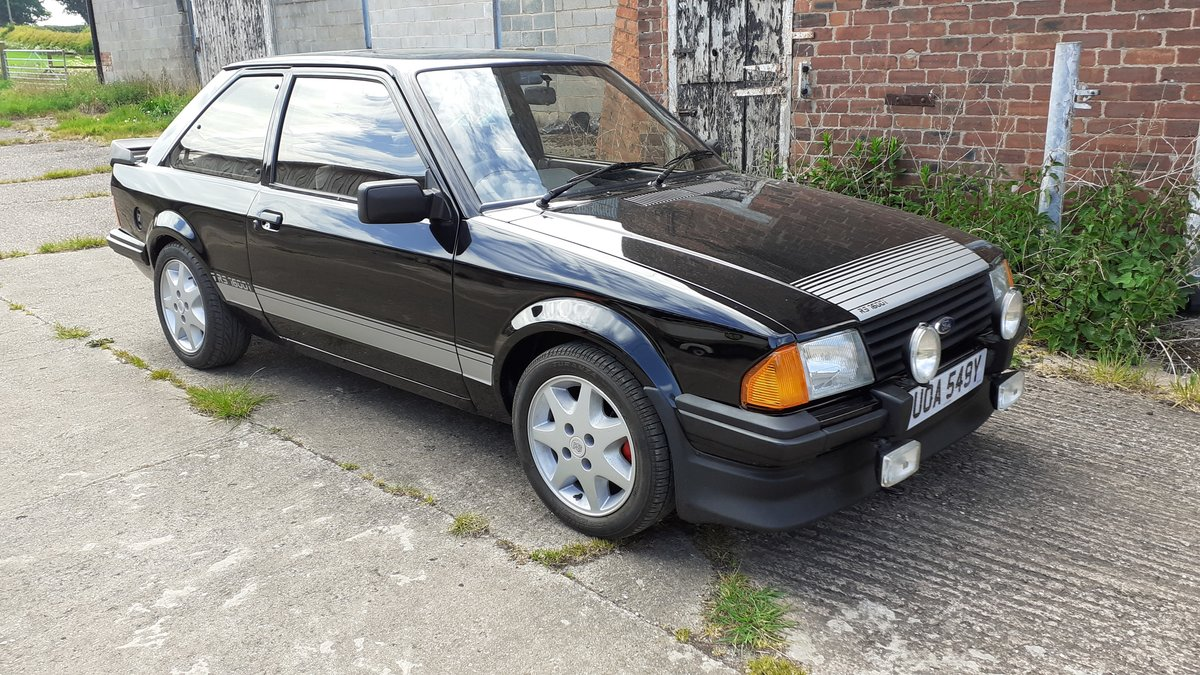 1983 Ford escort rs1600i black For Sale (picture 6 of 6)