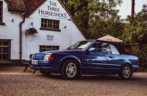 1987 Ford Escort XR3i Convertable 1.6L