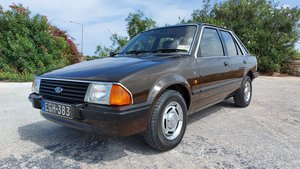 1983 Ford Escort MK3 GHIA All Original and UnRestored
