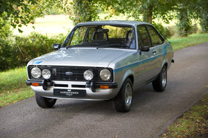 Fully Restored Ford Escort Harrier