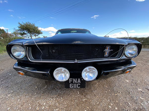 1965 V8 Mustang Black Street Race Car (Restomod)
