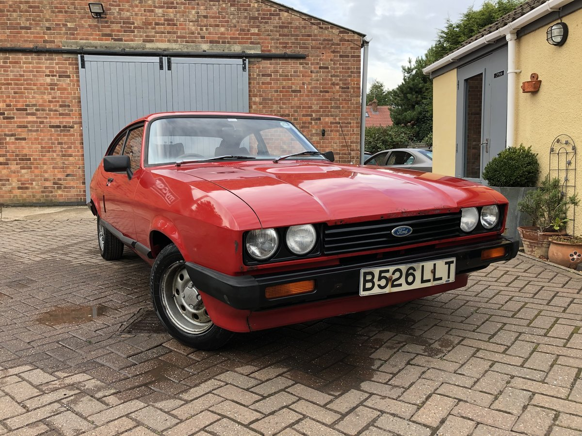 1984 Ford Capri 1.6 LS Mk3 SOLD (picture 1 of 6)